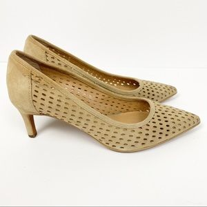 Franco Sarto Dew Perforated Heels Size 6M
